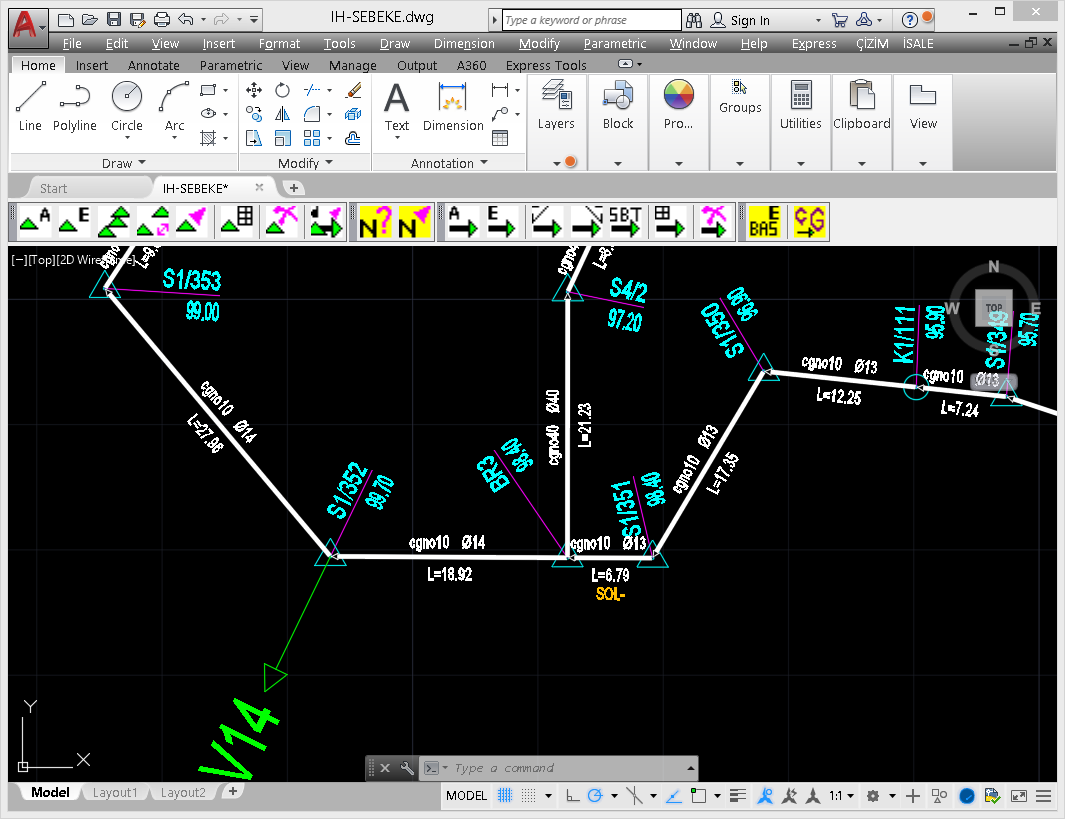 Water Transmission Line Software - Line Model